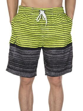 LELINTA Mens Active Shorts & Mens Swim Shorts Beach Trunks Surf Quick Dry Boardshorts Swimwear