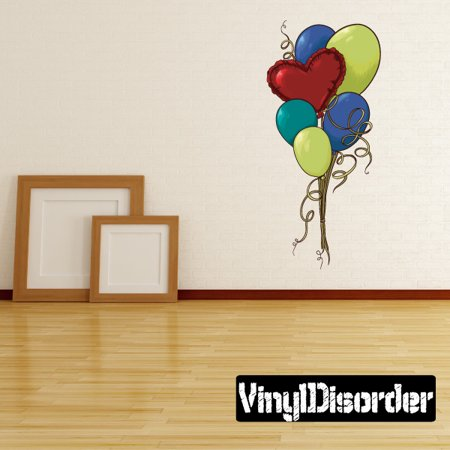 Holiday Valentine S Day Balloons Wall Decal Vinyl Car