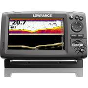 Lowrance HOOK7X Mid/High/DownScan Fishfinder