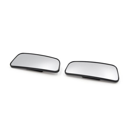 2Pcs Adjustable Car Vehicle Convex Wide Angle Rear View Side Blind Spot