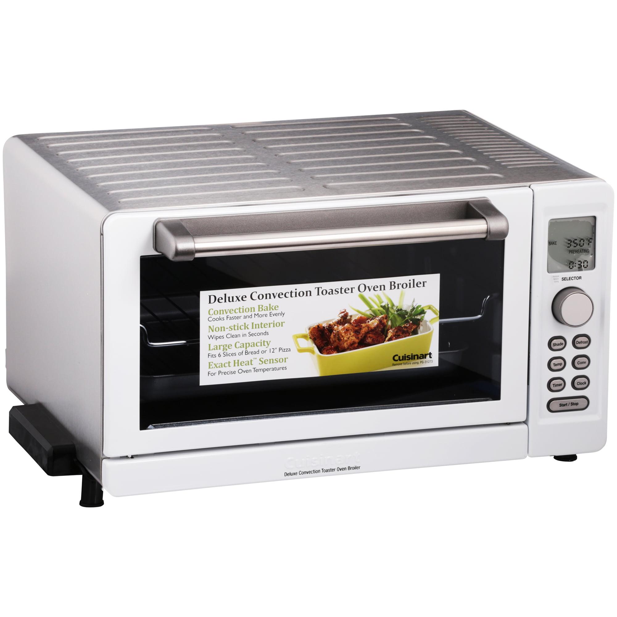 Cuisinart® Deluxe Digital Convection Toaster Oven Broiler - Walmart.com