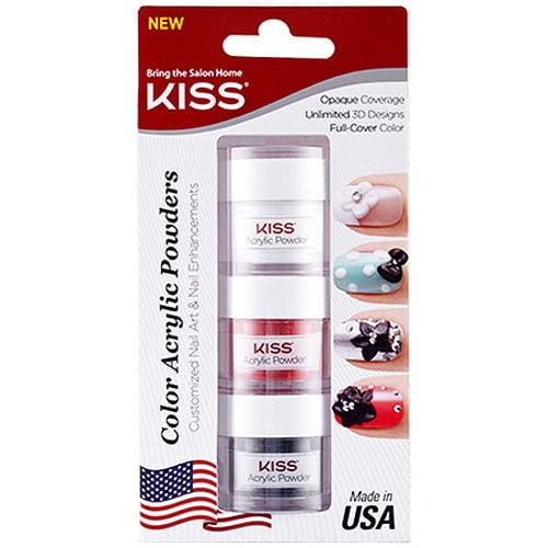 Kiss Acrylic Nail Kit Instructions: Kiss Salon Results Natural Length Nails, 20019 Short