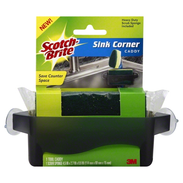 Scotch-Brite Sink Corner Caddy, 1.0 CT