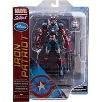 Iron Man Marvel Select Iron Patriot Action Figure