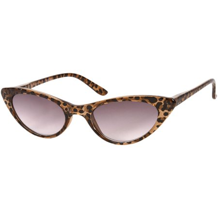 e68d3dd8fed4 Readers.com The Ashlee Sun Reader Chic Extreme Cat Eye Reading Sunglasses  for Women