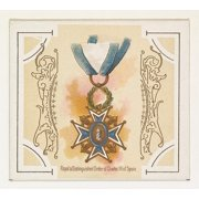 Royal and Distinguished Order of Charles III of Spain from the Worlds Decorations series (N44) for Allen & Ginter Cigarettes Poster Print (18 x 24)