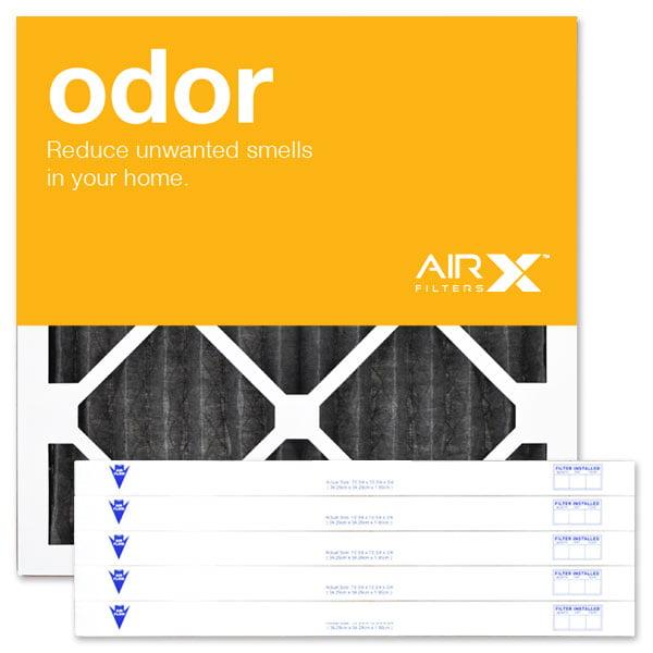airx filters odor 18x18x1 air filter merv 8 ac furnace pleated air ...