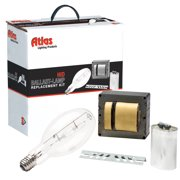 Atlas Lighting - HPS250-0005MOG - 250 Watt High Pressure Sodium Quad Tap - Ballast Kit With Lamp
