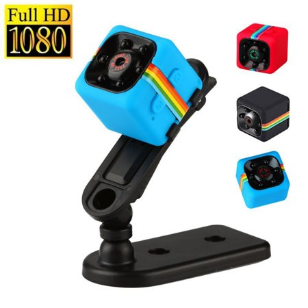 Sport Dash (SQ11 Car Dash Cam Sports Action Camera HD 1080P Night Vision Mini DV Camcorder DVR Infrared Video)
