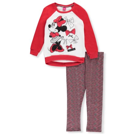 eed9b4a3208a Minnie Mouse Big Girls  2-Piece Outfit (Sizes 7 - 16) - Walmart.com