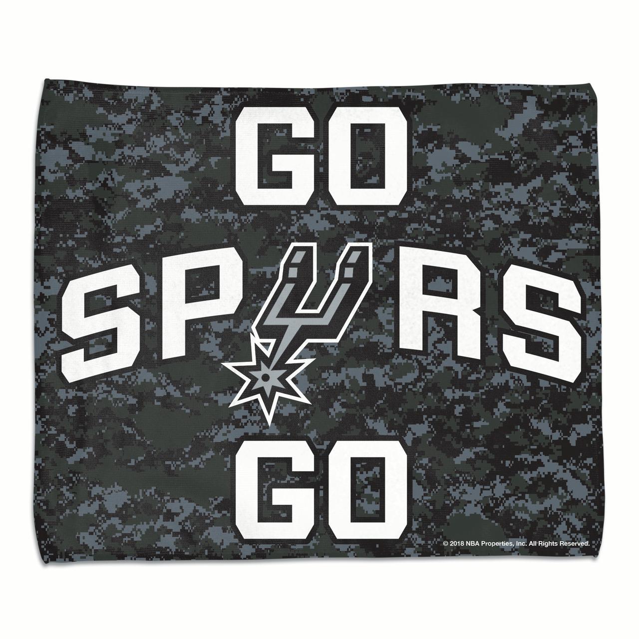 "San Antonio Spurs WinCraft 2018 NBA Playoffs 15"" x 18"" Rally Towel - No Size"