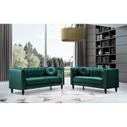 Whetzel Chesterfield Sofa and Loveseat set