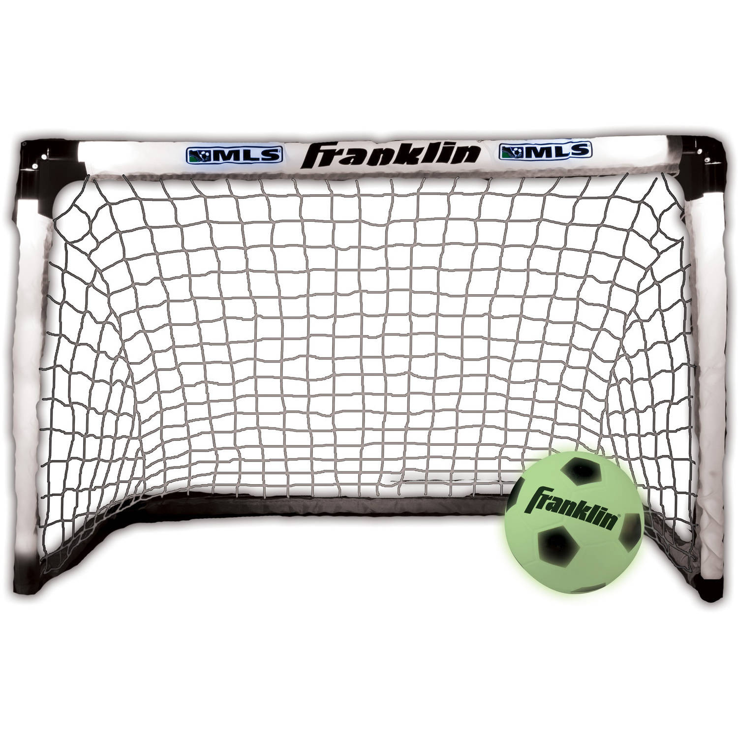 Click here to buy Franklin Sports MLS Light Up Goal And Ball Set by Franklin Sports.