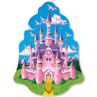 (Pack of 12) Princess Castle Wall Plaque Princess Party Theme