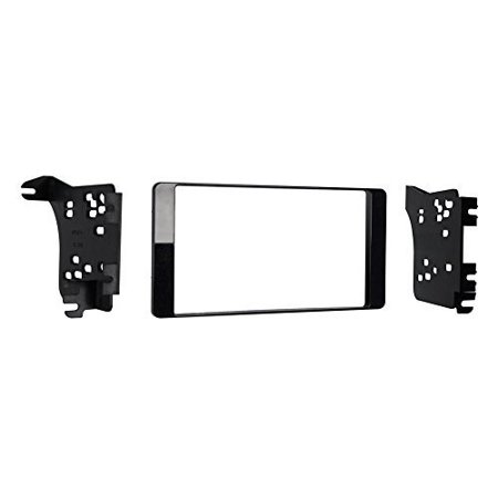95-7018CHG Charcoal Gloss 2-DIN Dash Kit for Select Mitsubishi Outlander, Double DIN Install Dash Kit By Metra