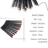 12 Pcs Set 12 Colors Professional Lipliner Makeup Waterproof Lip Liner Pencil