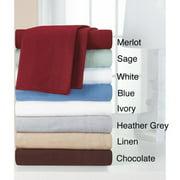Heavyweight Cotton Flannel Sheet Set Twin XL Sheet Set - Ivory