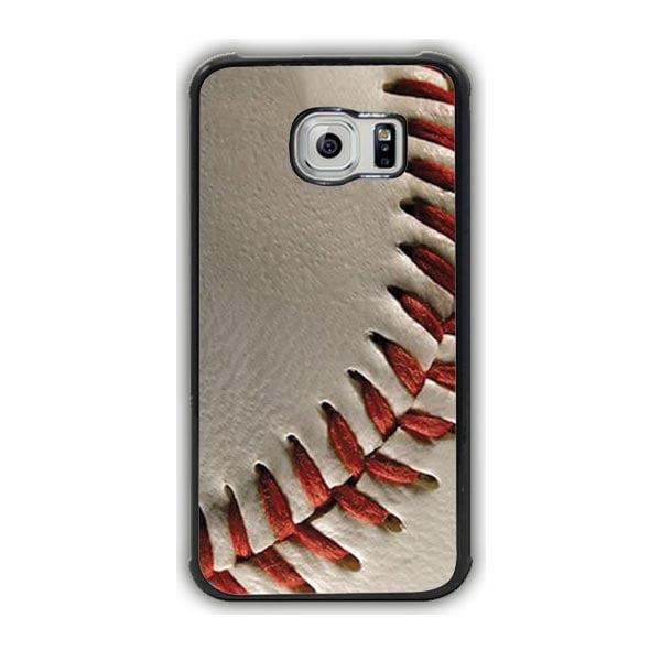 Baseball Closeup Bg Galaxy S7 Edge Case