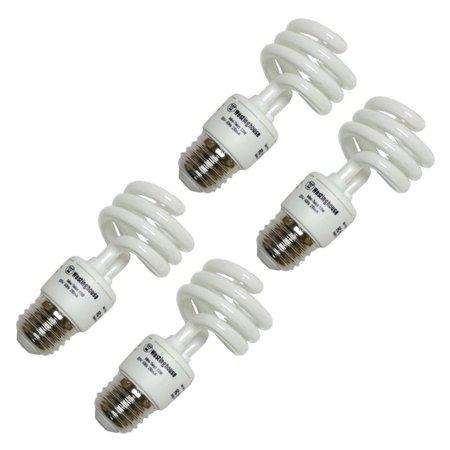 Westinghouse 37944 - 13MINITWIST/65/4PK Compact Fluorescent Daylight Full Spectrum Light Bulb