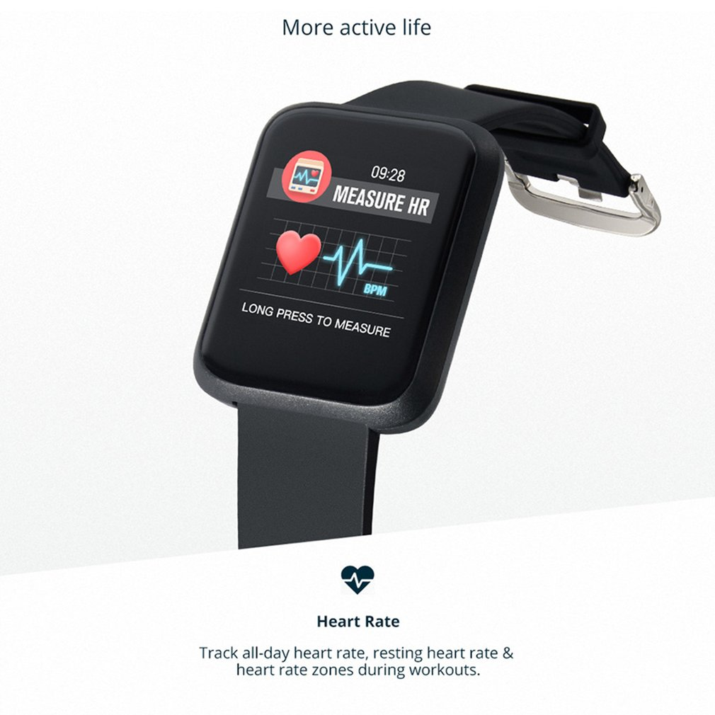 COLMI Sport 3 Waterproof Real-time Heart Rate Monitor Blood Pressure Watch