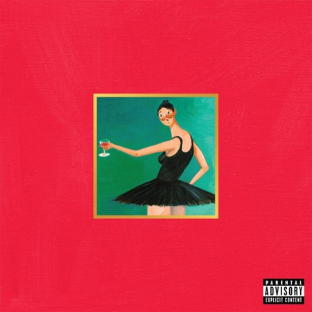 Kanye West - My Beautiful Dark Twisted Fantasy (Vinyl)](Kanye West Batman Halloween)