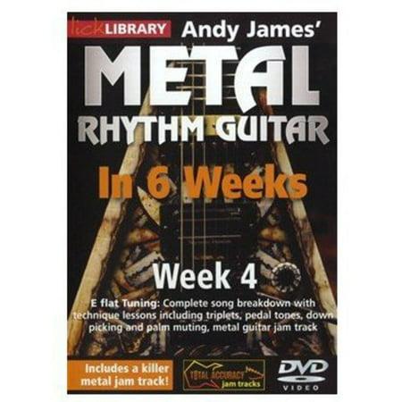 Methal Rhythm Guitar in 6 Weeks 4 (DVD) (This Week In Geek Halloween)