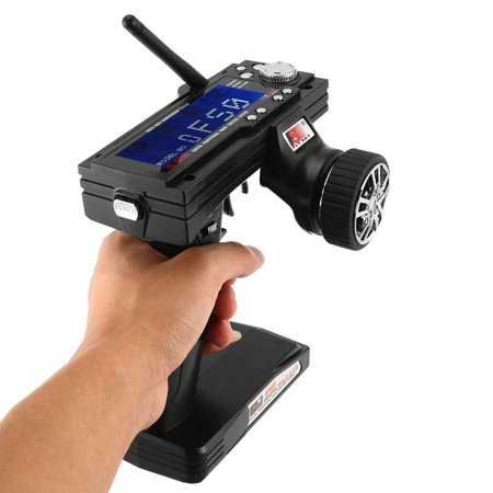 Radio Remote Control Transmitter - Flysky FS-GT3B 2.4G 3CH Transmitter With Receiver Fail-Safe For RC Car Boat