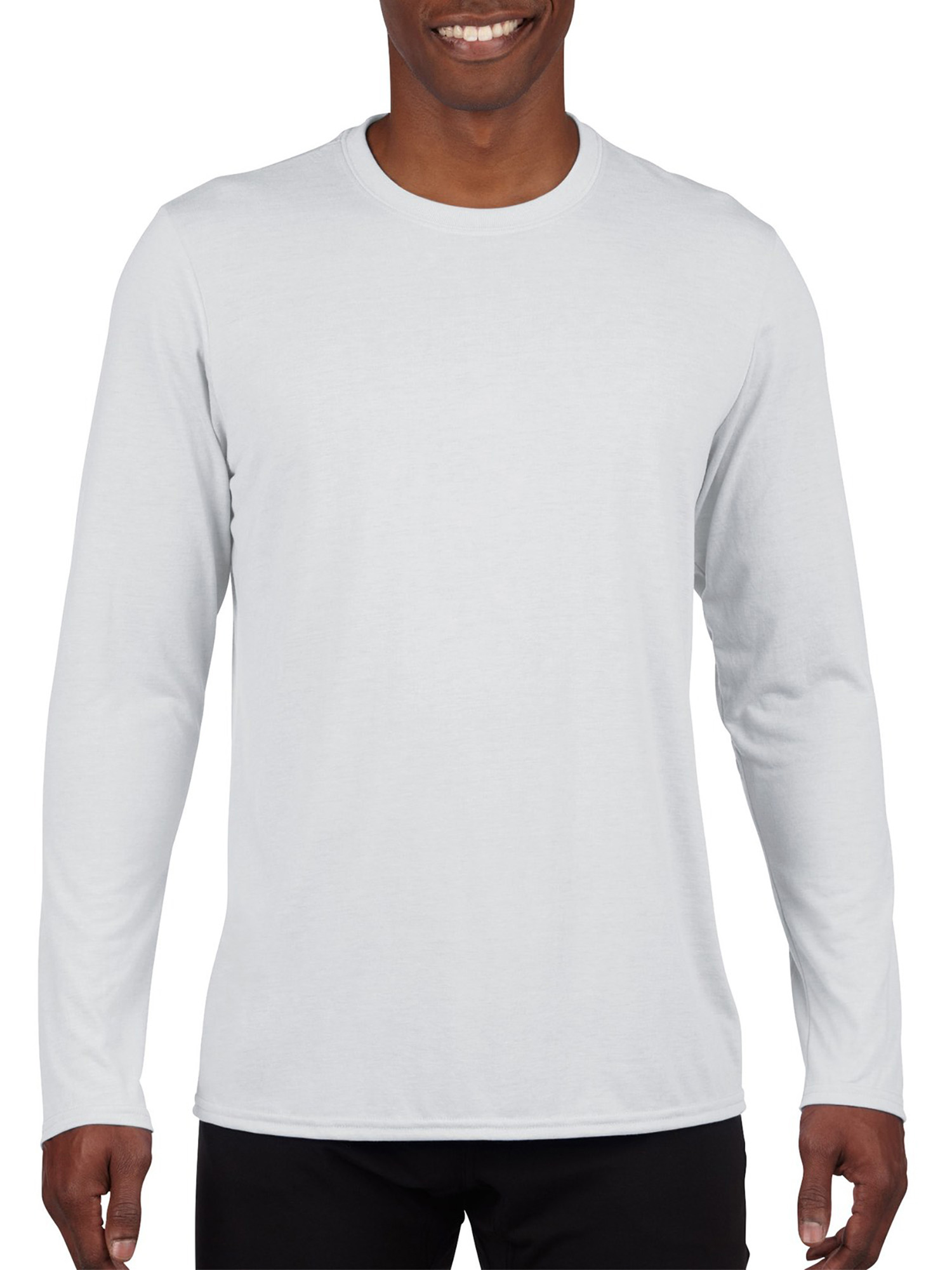 Big Mens AquaFX Performance Long Sleeve T-Shirt, 2XL