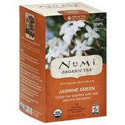 Numi Jasmine Green Tea Bags, 18 count, (Pack of 6)