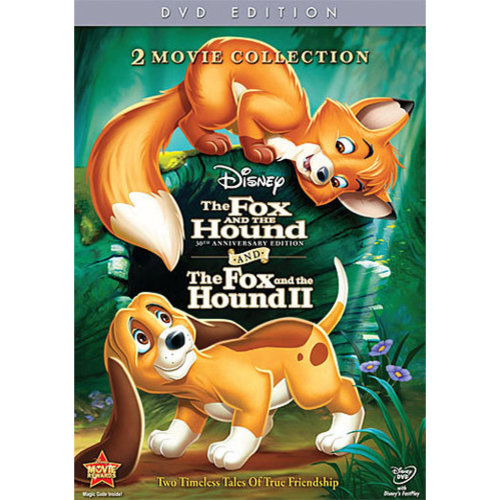 FOX & THE HOUND-30TH ANNIVERSARY 1&2 (DVD/2 DISC/WS/ENG-SDH-FR-SP SUB)