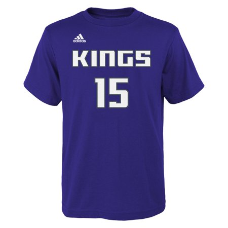 bfc18c13 DeMarcus Cousins Sacramento Kings Youth Adidas NBA Player Purple T-Shirt -  Walmart.com
