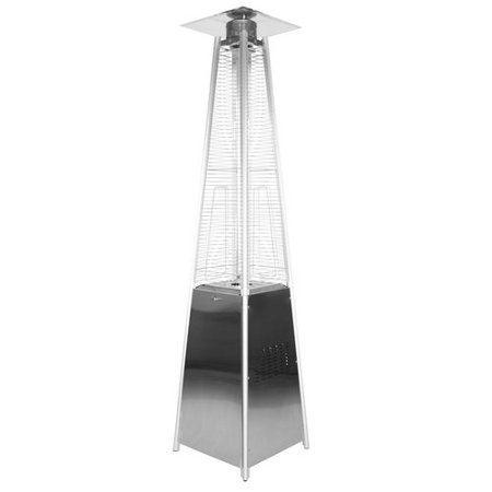 Garden Radiance Garden Sun Stainless Steel Pyramid 34,000 BTU Propane Patio Heater ()