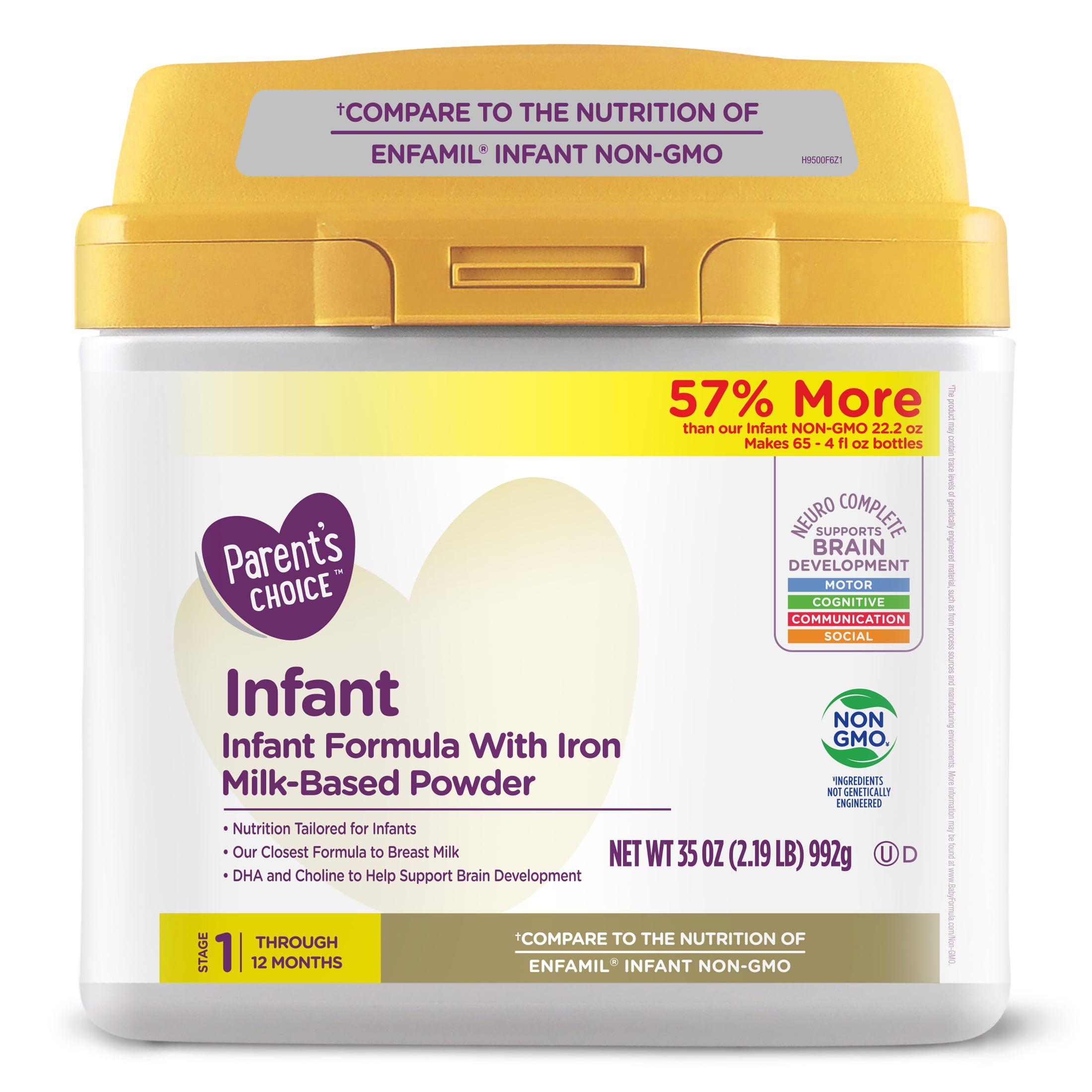 Parent's Choice Infant Formula with Iron, Powder, 35 oz