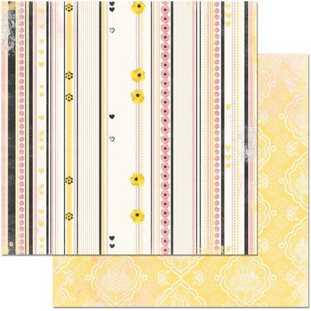 """Petal Lane Double-Sided Cardstock 12""""X12""""-Sweet - image 1 de 1"""