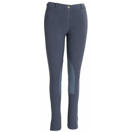 TuffRider Ladies Starter Lowrise Pull On Breeches (Best Breeches For Curves)