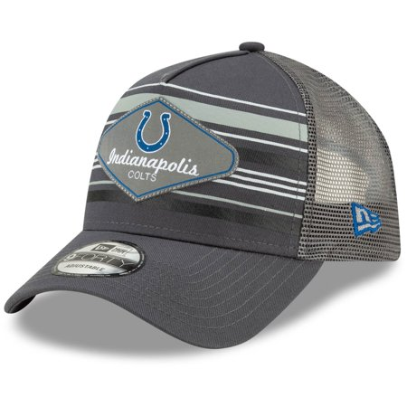 where can i buy nice cheap super cheap Indianapolis Colts New Era Hatteras A-Frame 9FORTY Adjustable Hat ...