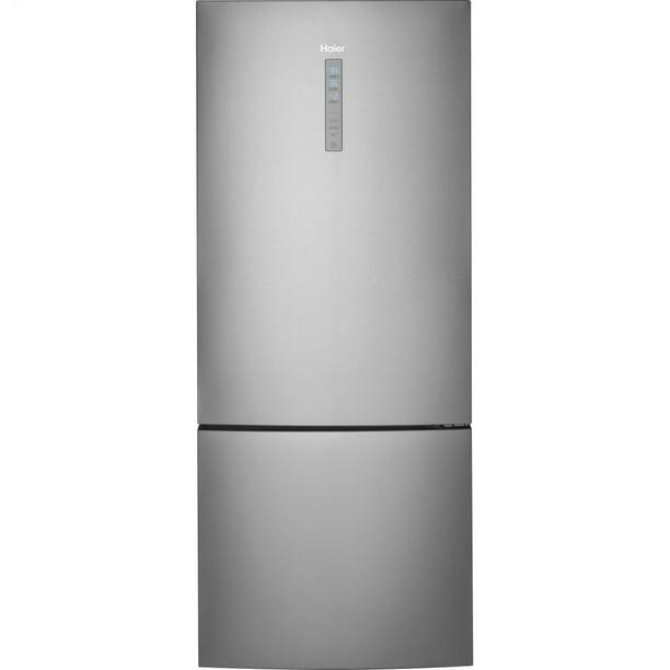 Haier HRB15N3BGS 28 Inch Bottom Freezer Refrigerator