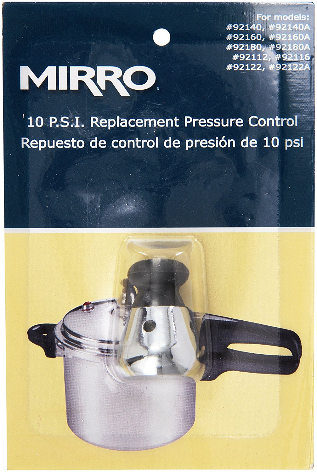 92110 Stainless Steel Pressure Cooker and Canner Control, 10-PSI for Model 92140 92140A 92160 92160A 92180... by