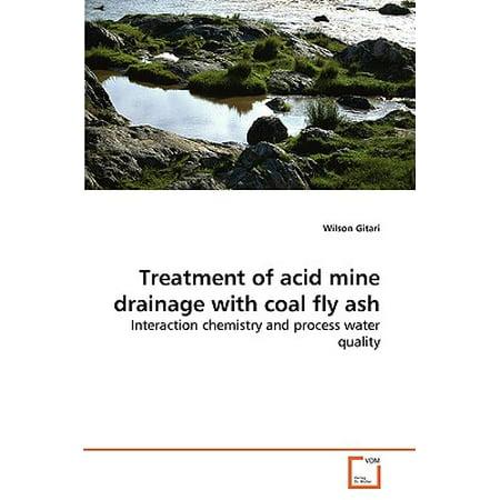 Treatment of Acid Mine Drainage with Coal Fly Ash