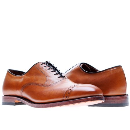 - Allen Edmonds Fifth Ave Cap-Toe Oxfords Walnut Men's Dress Shoes Size 7EEE