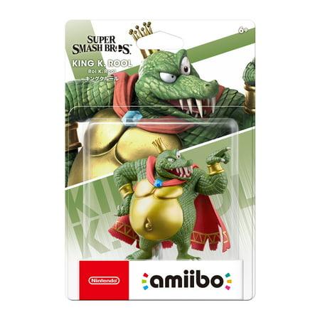 Nintendo Super Smash Bros. amiibo Figure - King K. Rool