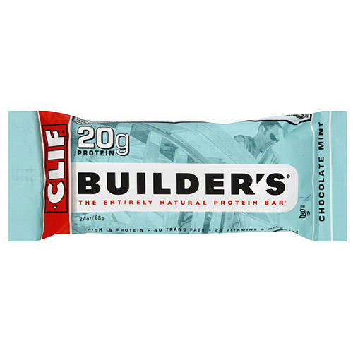 CLIF Builder's Chocolate Mint Protein Bars, 12 count, (Pack of 12)
