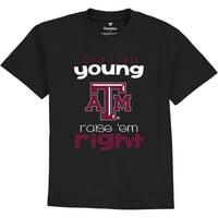 Texas A&M Aggies Fanatics Branded Infant Start Em Young T-Shirt - Black