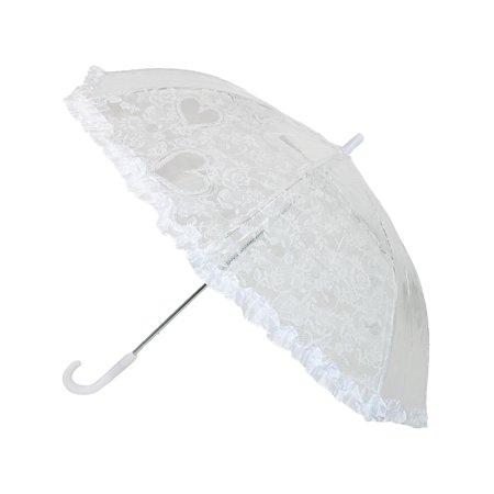 Kids' Lace Heart Stick - Lace Umbrellas