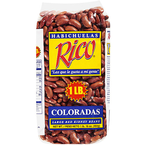 Rico Coloradas Large Red Kidney Beans, 1 lb
