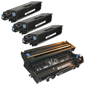 LD Compatible Brother TN580 Toner and DR520 Printing Supplies