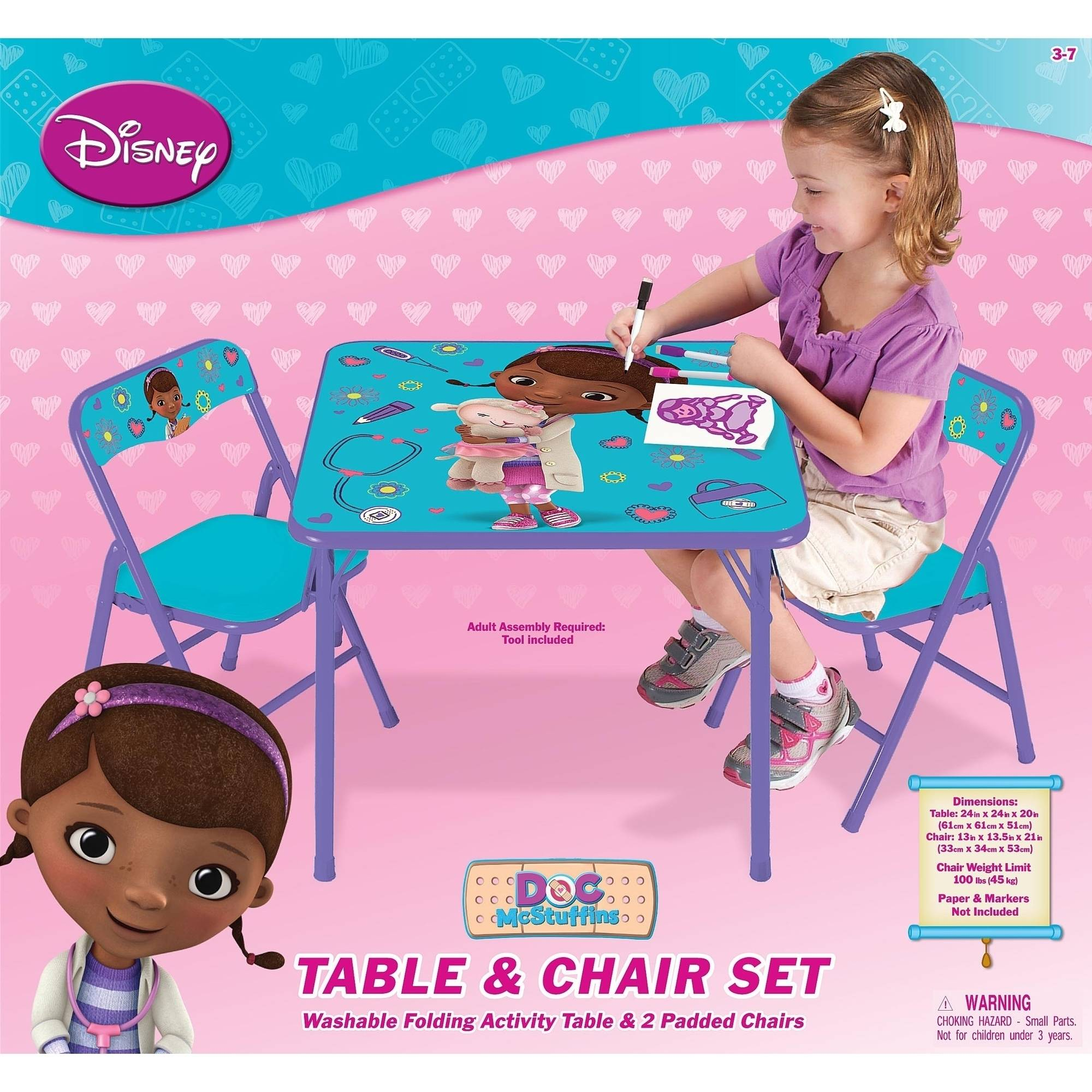 sc 1 st  Walmart & Disney Doc McStuffins On the Go Activity Table Set - Walmart.com