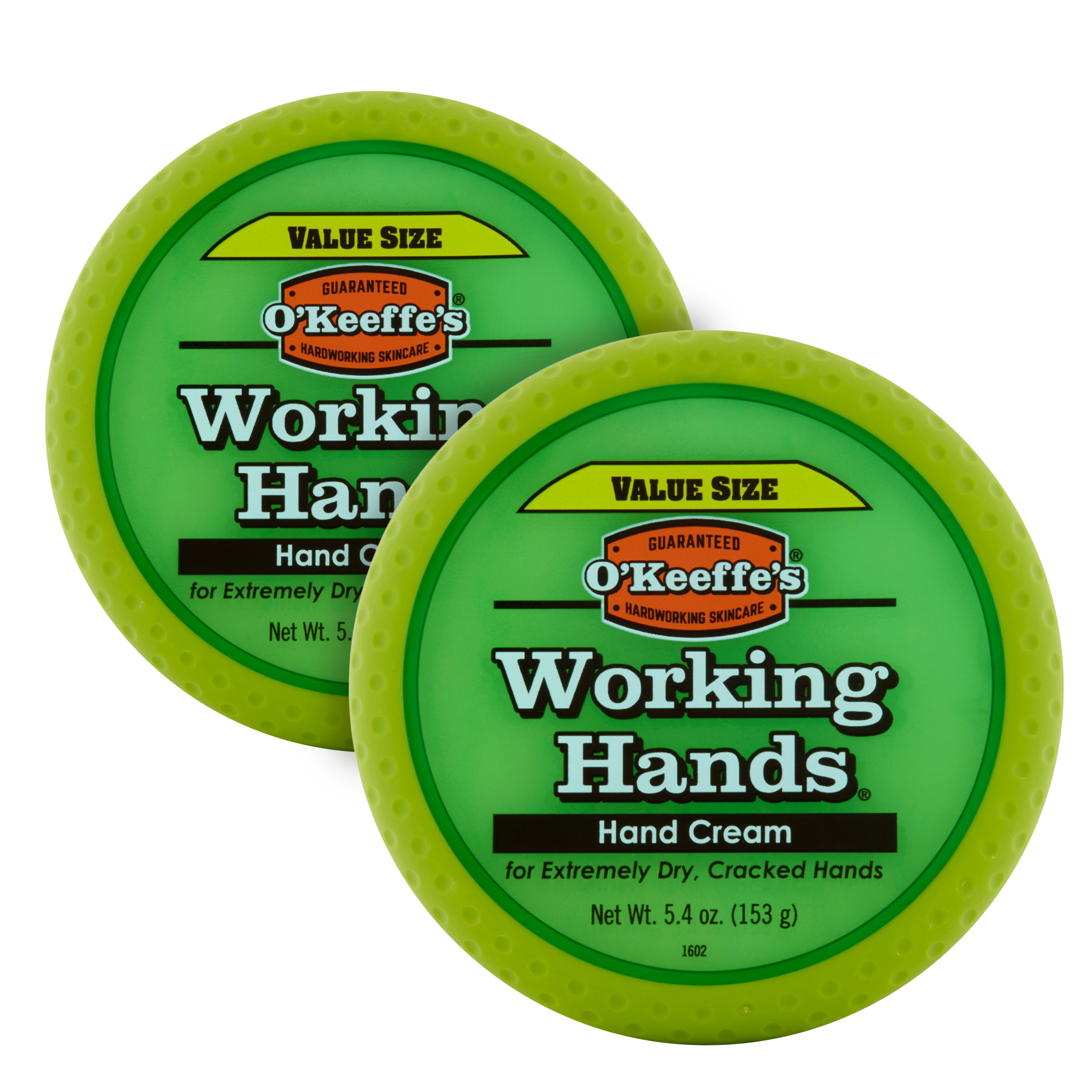 2 pack 5.4 oz. Jar O'Keeffe's Working Hands Hand Cream