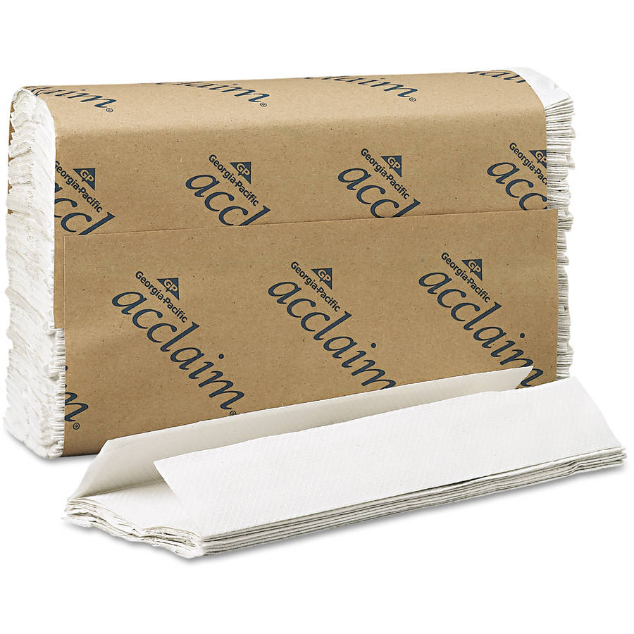 Georgia Pacific Acclaim C-Fold White Paper Towels, 240 sheets, 10 ct