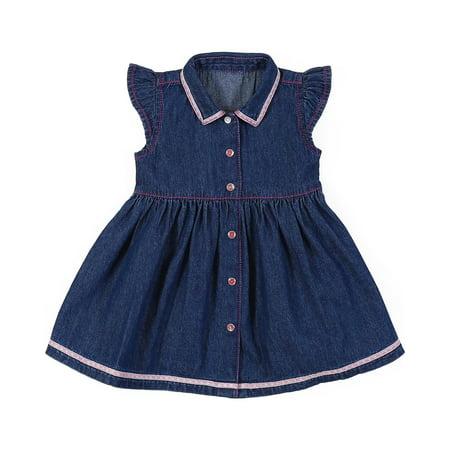13fa879196af Wrangler - Wrangler Infant-Girls  And Denim Dress - Pq5103d ...
